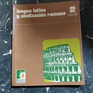 Libro Lengua Latina y Civilización Romana Bachille