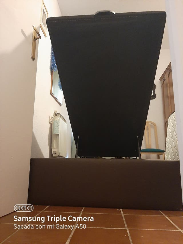 cama canape90cmx 190cm polipiel abatible