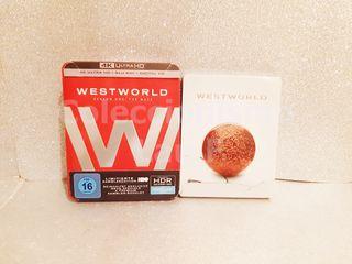 Pack 4K Steelbook Westworld Temporadas 1 y 2