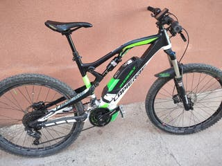 Bicicleta Electrica btt doble suspension.