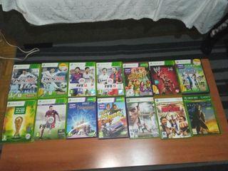 Lote de juegos Xbox 360.