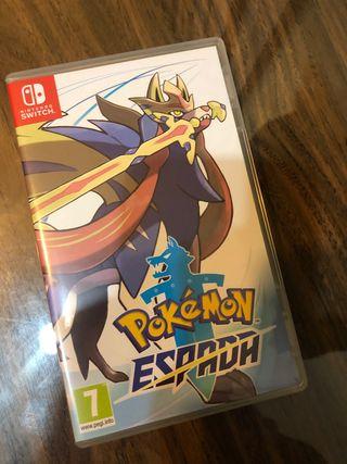 Pokémon escudo Nintendo switch