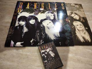 lote vinilo y cassette BANGLES