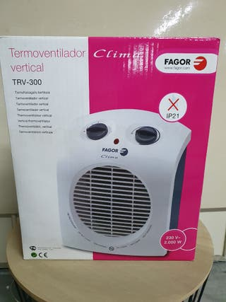 Calefactor Fagor 2300w
