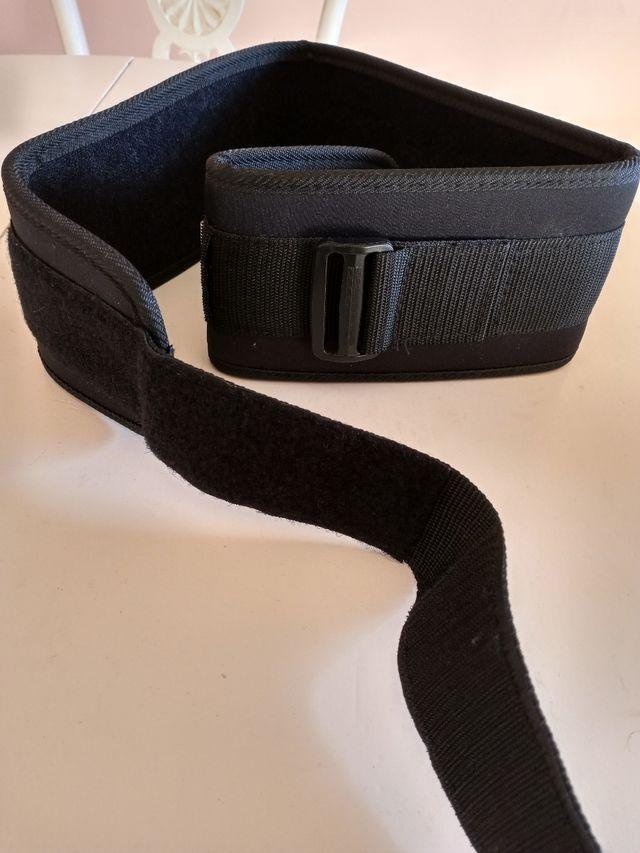 faja cinturón musculación