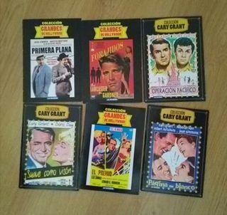 6 PELÍCULAS DVD ORINALES