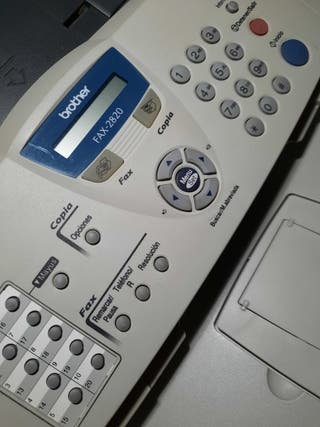 fax láser brother 2820