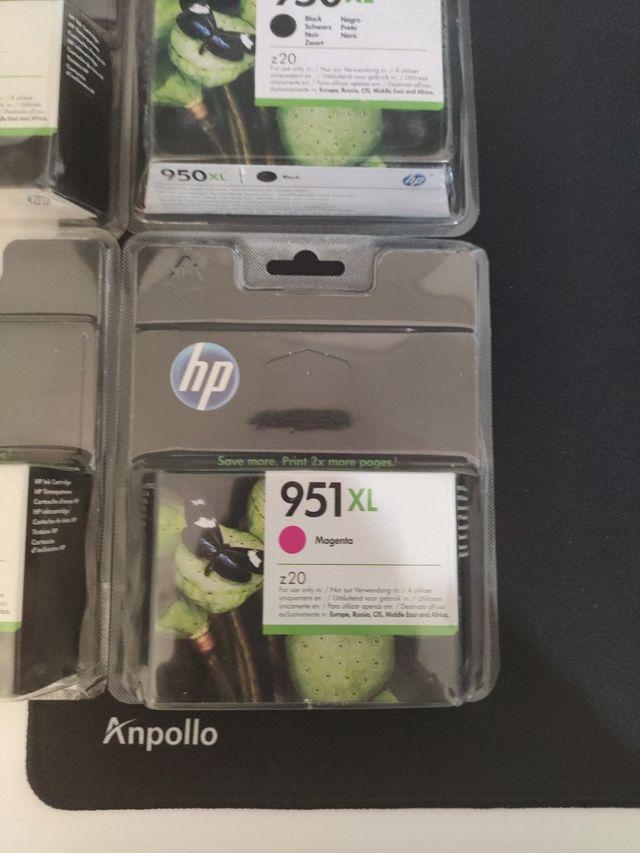 Cartuchos HP 950XL y 951XL