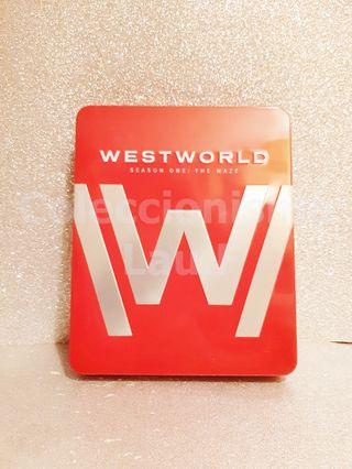 Steelbook Bluray 4K Westworld Temporada 1