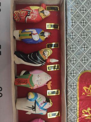 FIGURITAS DE LOS 10 DIOSES CHINOS