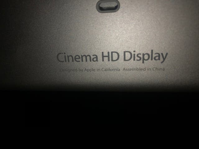 "Apple Cinema HD Display de 23"""