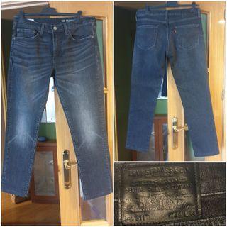 Pantalon vaquero negro de hombre Levis 511 W34 L34