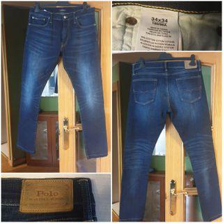 Pantalon vaquero de hombre Ralph Lauren W34 L34