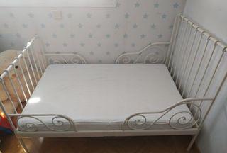 Cama + colchón visco Ikea