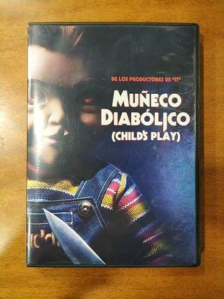 PELÍCULA DVD MUÑECO DIABOLICO-NUEVA VERSION (2019)