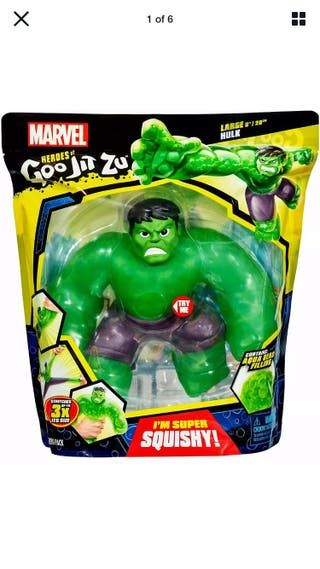 Marvel Heroes Large Zupagoo Hulk 20cm
