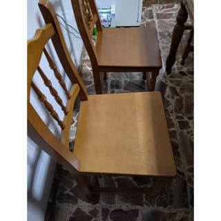 mesa de cocina extensible con 6 sillas