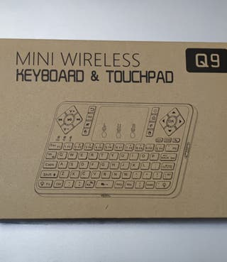 Mini Teclado TouchPad Q9