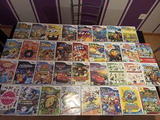 Wii Videojuegos para niños +3 años