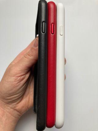 Lote 3 fundas originales Apple-IPhone SE 2020