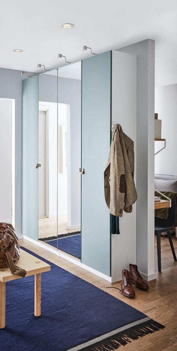 2 puertas ikea espejo