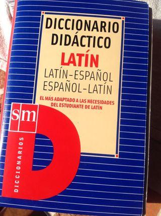 Diccionario Didáctico Latín