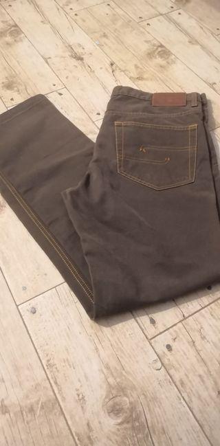 Pantalón marrón GANT hombre talla L