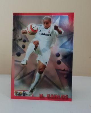 ROBERTO CARLOS #74 REAL MADRID TOP LIGA 2006