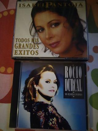 Isabel pantoja y Rocio Durcal