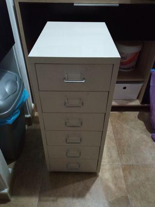 cajonera metálica Ikea