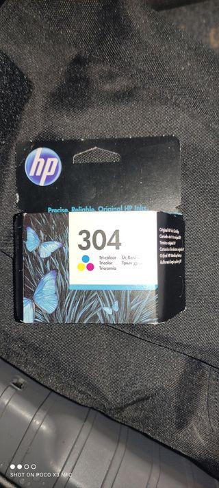 cartucho tricolor HP