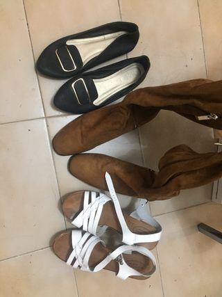 Zapatillas - three pair of shoes