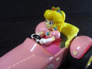 Coche Pull Back Speed Mario Kart Peach