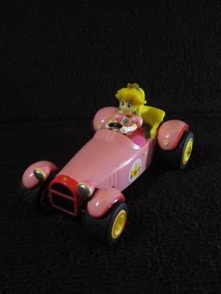 Coche Pull Back Speed Mario Kart Peach