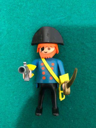 Playmobil Capitán pirata con cofre REF 3382