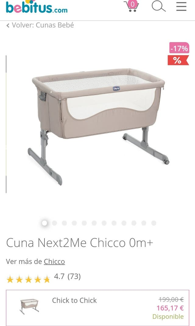Minicuna Next to me - ChiCco
