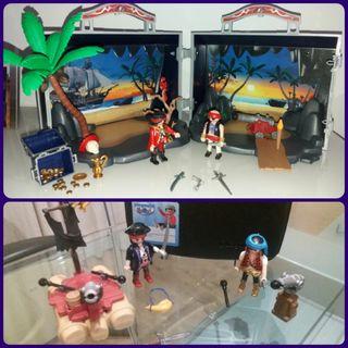 2 conjuntos piratas Playmobil