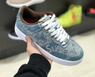 Nike air force Louis vuitton and supreme