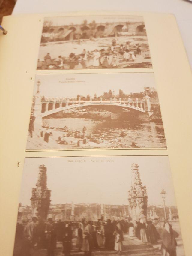 recuerdo de Madrid en postales