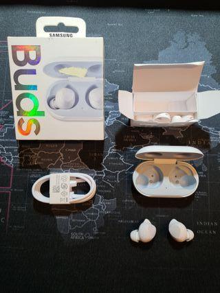 Auriculares bluetooth Samsung Galaxy Buds blancos