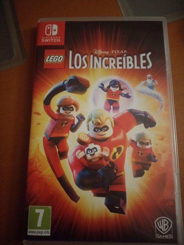 """Juego """"los increíbles"""" Nintendo Switch"""