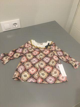 Vestido de PILAR BATANERO con la etiqueta puesta