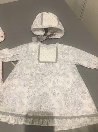 2 vestidos talla 3 meses