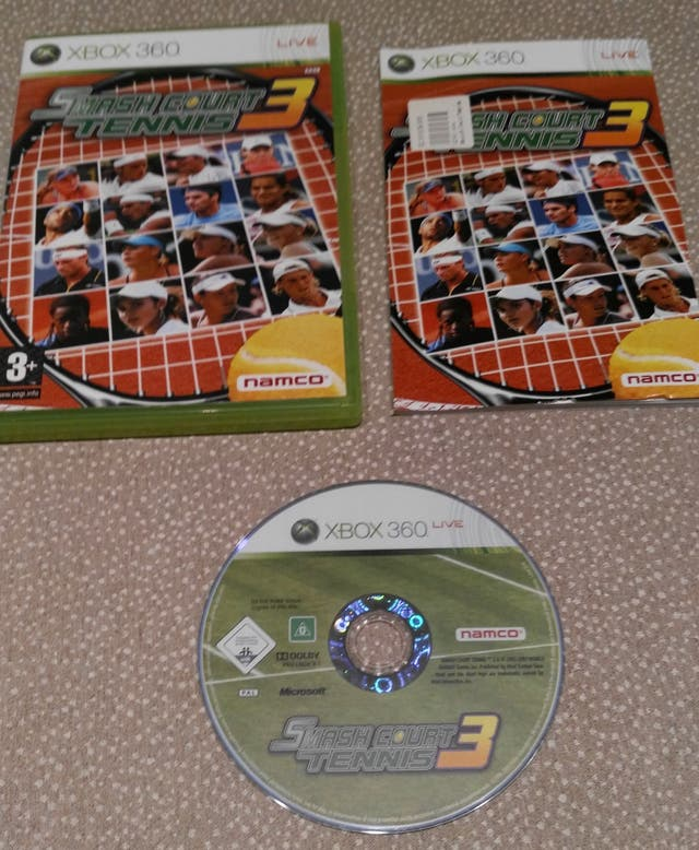 XBOX360 SmashCourt Tennis 3