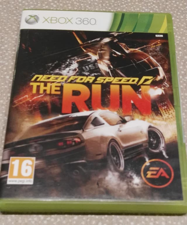XBOX360 Need For Speed THE RUN