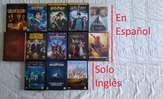 Lote de 13 películas DVD