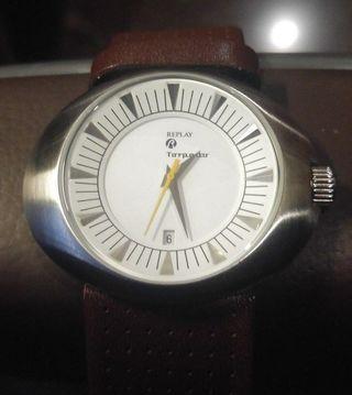 reloj caballero (oval) replay rx5201bh
