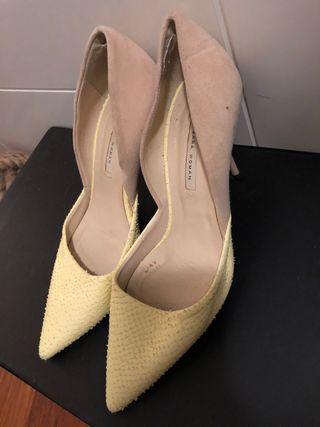 Zapato tacón Zara