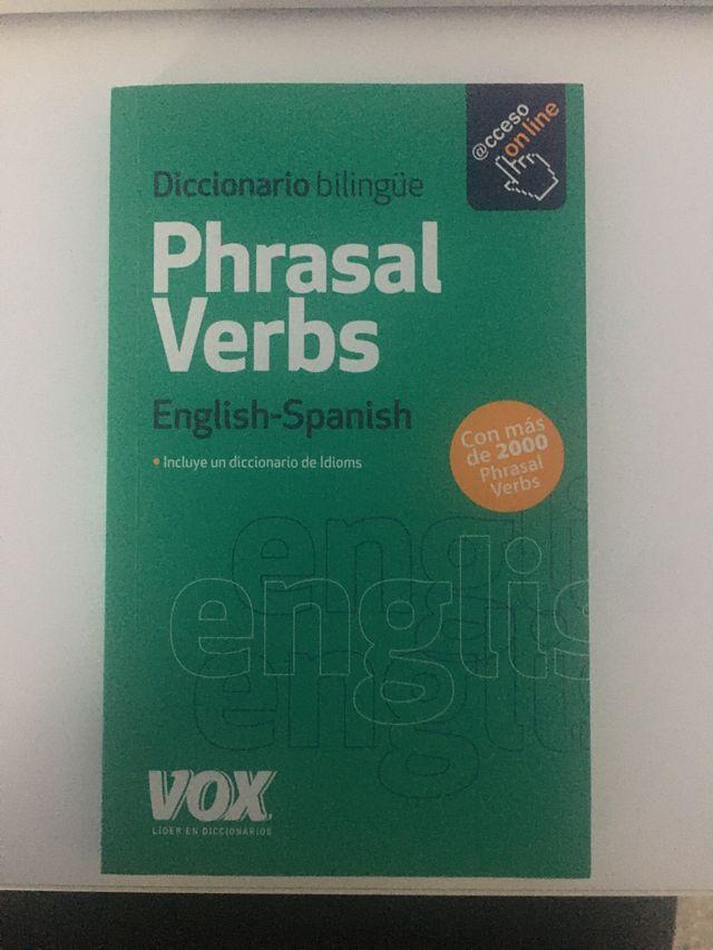 Libro de inglés. Todos los phrasal verbs.