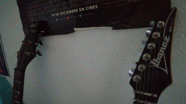 Cambio guitarras
